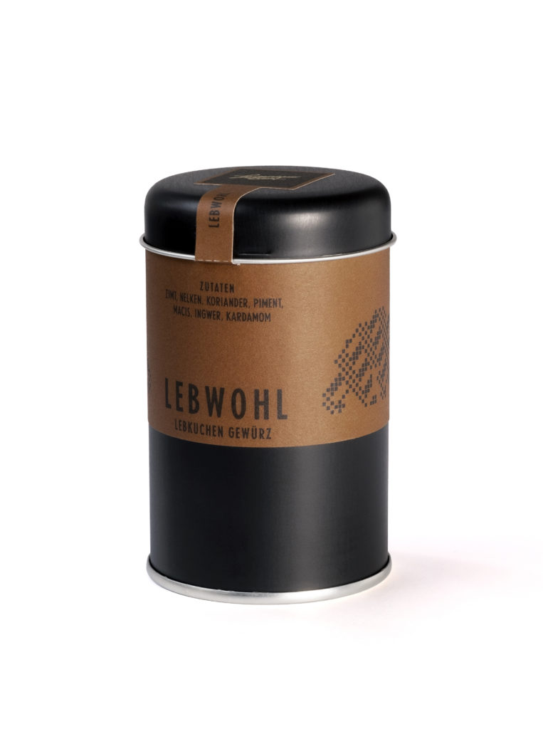 Lebkuchen Gewürz Verpackung Lustenauer Senf