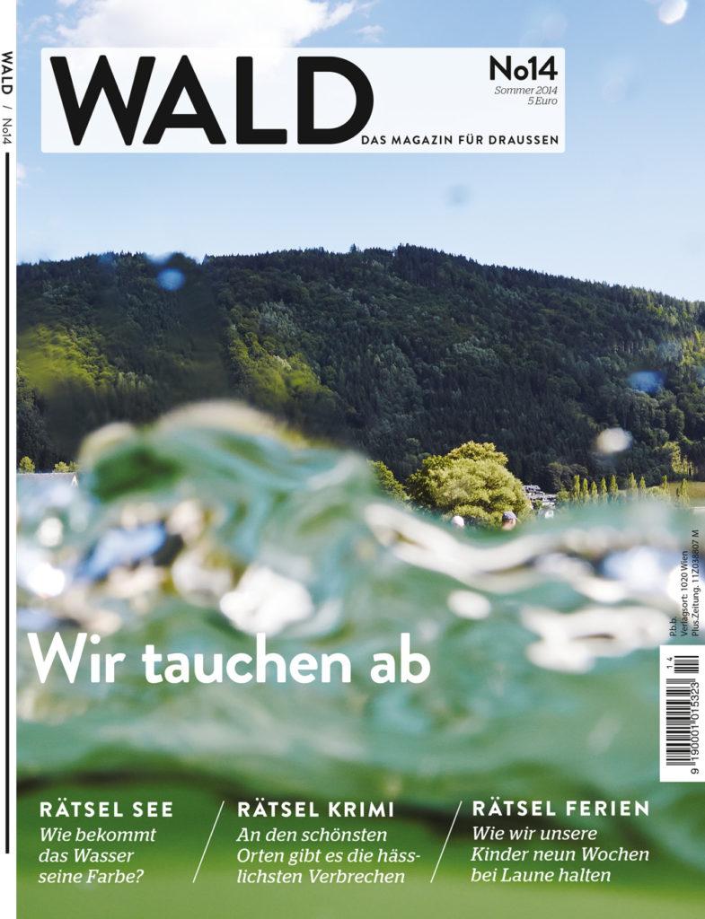 WALD Magazin 14 - Cover - HAGEN Julian Art Direktion