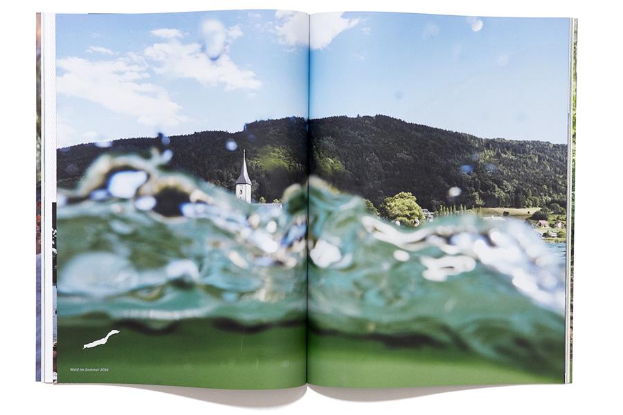 WALD Magazin - Doppelseite - Wasser - Farbe